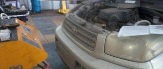 Замена масла в АКПП Toyota RAV