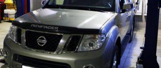 Nissan Pathfinder замена ATF