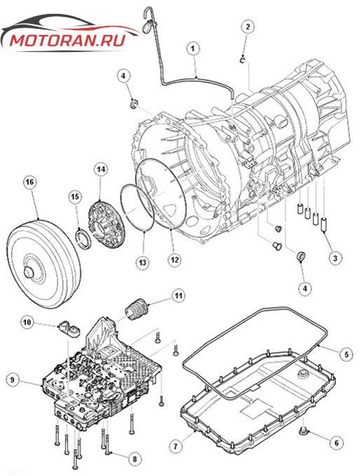 устройство коробки передач zf 6hp26