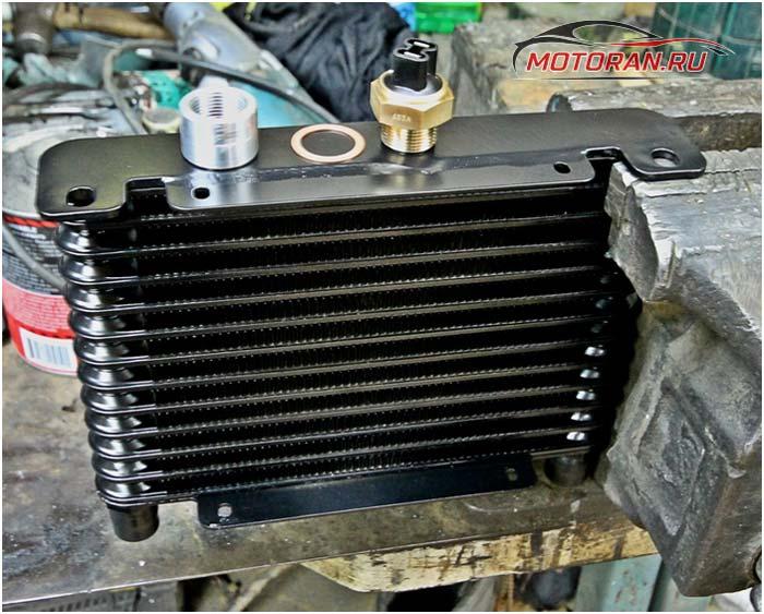 Промывка радиатора АКПП