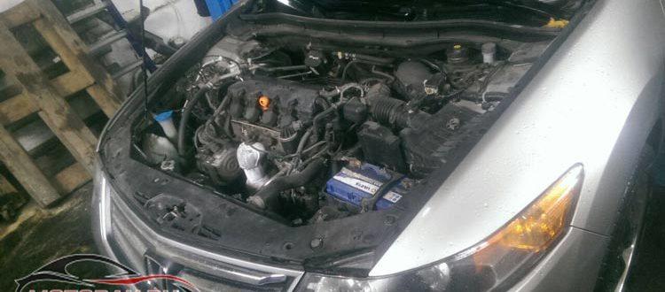 Замена атф в АКПП Хонда Аккорд