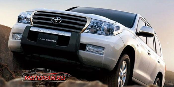 защита Toyota Land