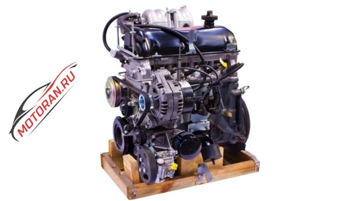 двигатель на Шевроле Ниву