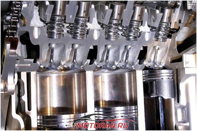 Цилиндры и клапана К4М