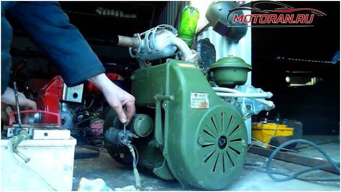 УД 25 в самодельных агрегатах