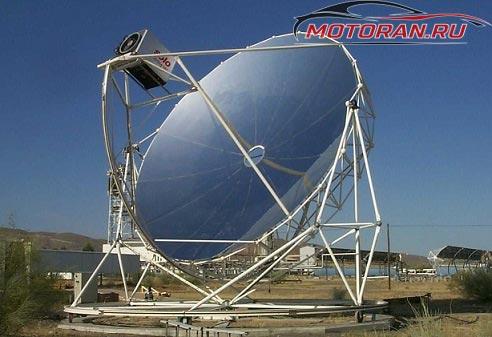 Стирлинга в солнечной установки