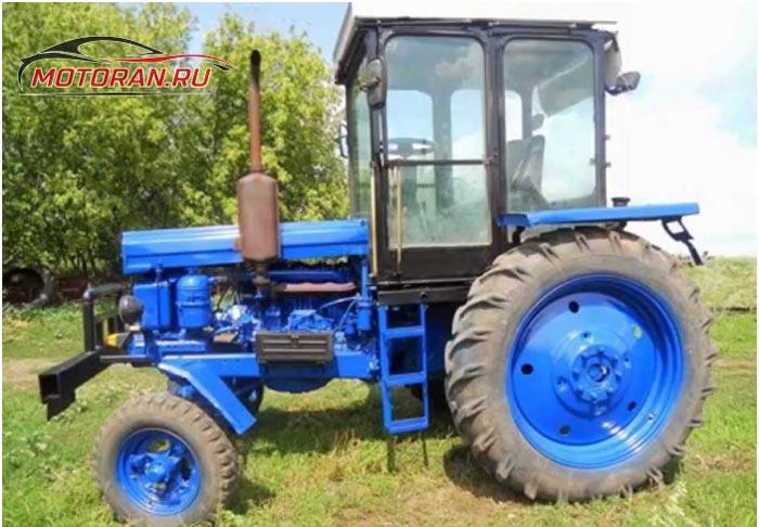 Д 144 на тракторе