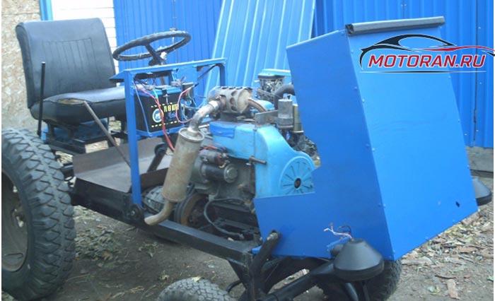 модификации двигателя УД-25