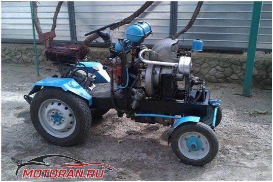 ЗИД на тракторе
