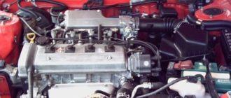 Двигатель 4A FE