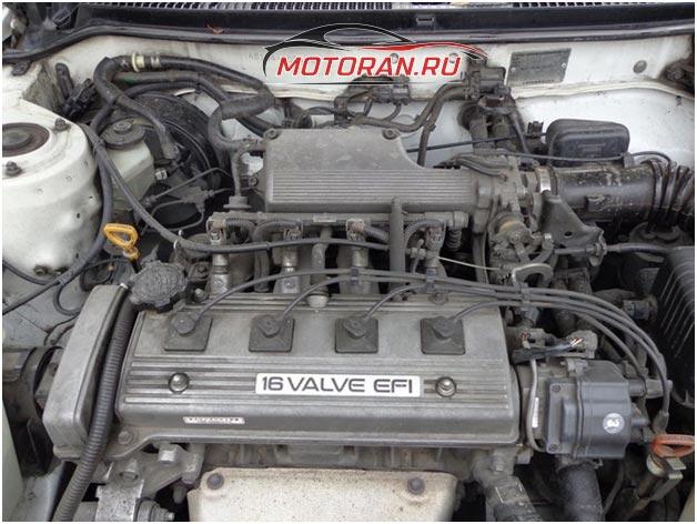 Двигатель 4A FE вид